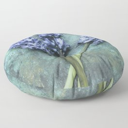 Beautiful Hyacinth Floor Pillow