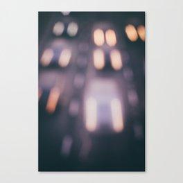 Bokeh Highway Canvas Print