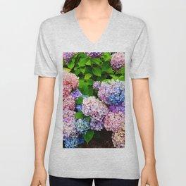 Bouquet of Colors Unisex V-Neck