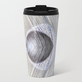 Peacock Feather Symmetry ii Travel Mug