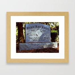 Remembering Rockin' Robin Framed Art Print