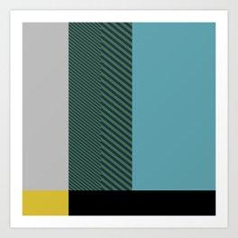 Construct #2 Art Print