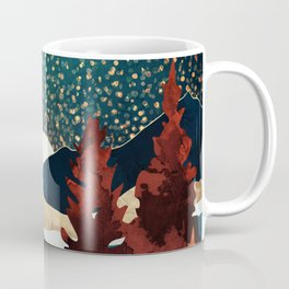 Star Sky Reflection Coffee Mug
