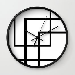 Count the Rectangles Wall Clock