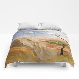 """South Rim Overlook"" Comforters"