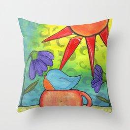Tea Cozy Throw Pillow