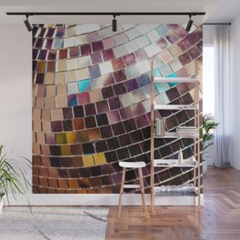 Disco Ball Wall Mural