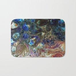 Currents 1 (Abstract Dachshund) Bath Mat