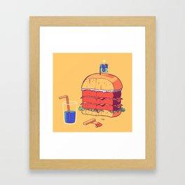 The last date Framed Art Print
