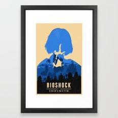 Bioshock Infinite Elizabeth Framed Art Print