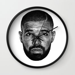 DRAKE PORTRAIT Wall Clock