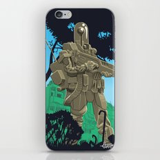 Robotic Warfighter MK.5D (devGrob) iPhone & iPod Skin