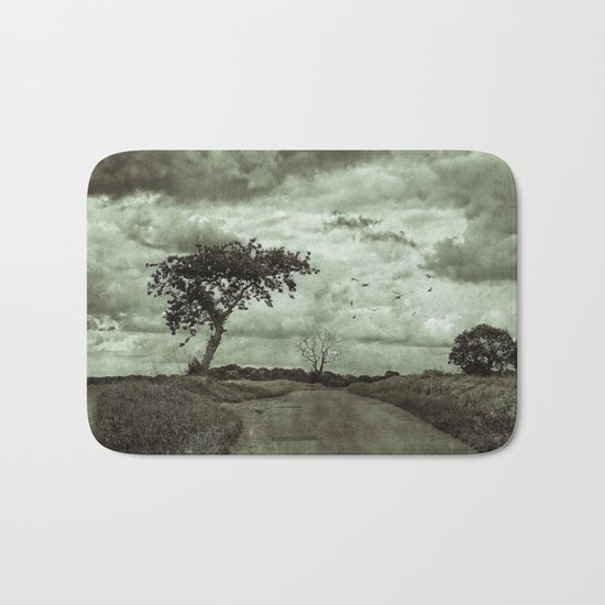 The Lonely Road Bath Mat