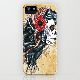 gypsy girl tattoo iPhone Case
