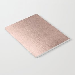 Moon Dust Rose Gold Notebook