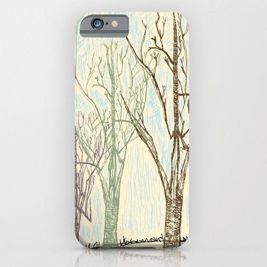 A Winters Sketch iPhone & iPod Case