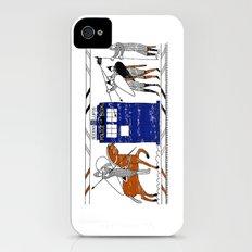 Nocens Lupus (Bad Wolf) Slim Case iPhone (4, 4s)