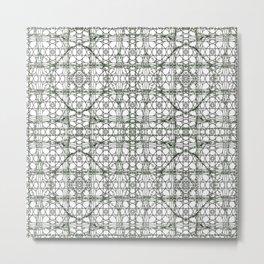 VINEY LINEY FLOW Metal Print
