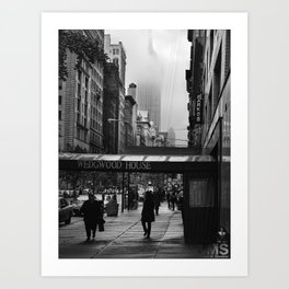Fifth Avenue from 14th Street Art Print