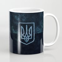 ukraine Mugs featuring Ukraine by rudziox