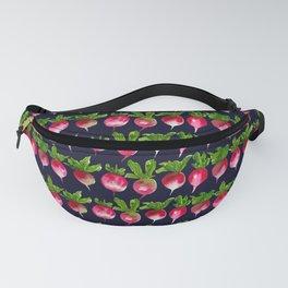 Watercolor radish seamless pattern Fanny Pack