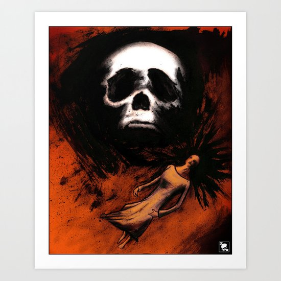 Halloween Hallucination Scene Part 3 Art Print