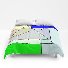 Colorandform mixery 4 Comforters