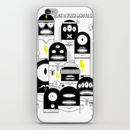 BLCK & YLLW MNSTR HROS iPhone Skin