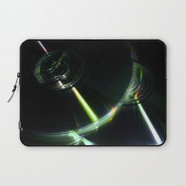 Stack of Compact Discs Abstract Laptop Sleeve