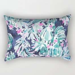 PALMY & COCKY Palm Cockatoo Rectangular Pillow