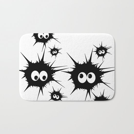 Cute Monsters family Bath Mat