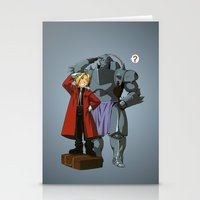fullmetal alchemist Stationery Cards featuring Alchemist of Steel by CromMorc