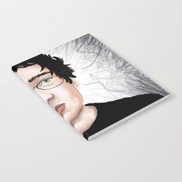 Green Eyed Guy Notebook