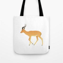 Peaceful Antelope Tote Bag