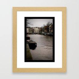+ Prinsengracht, Amsterdam Framed Art Print