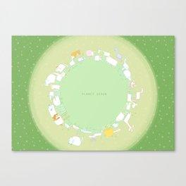 Planet Seven Canvas Print