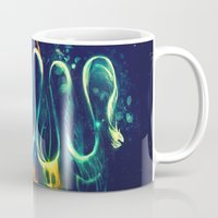 threadless Mugs featuring Leptocephalus by Alice X. Zhang