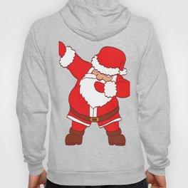 Santa Claus Dabbing Dabbin' Christmas Design For December 25th T-shirt Design Jesus Birthday Hoody