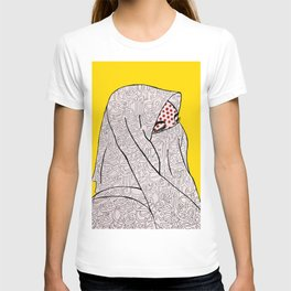 Roy Lichtenstein Meets the Arabic Woman T-shirt