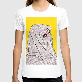 Roy Lichtenstein Meets the Arabic Woman T-shirt