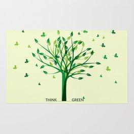 Think green! Rug