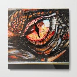 Dragon-eye Metal Print