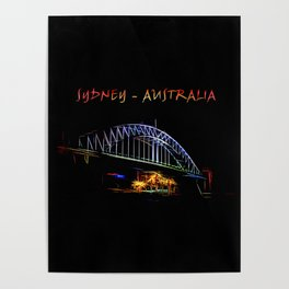 Electrified Sydney Poster