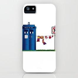 Doctor Who: tardis wardrobe  iPhone Case