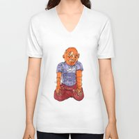 ohm V-neck T-shirts featuring Ohm by Masonjohnson