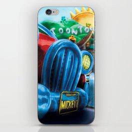 Mickey's Jalopy iPhone Skin
