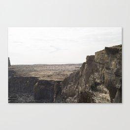 Planet West Iceland Canvas Print