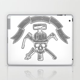 Death construction worker Laptop & iPad Skin