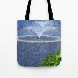 Ornamental Splash Tote Bag