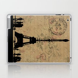EIFFEL TOWER FRENCH COLLAGE Laptop & iPad Skin